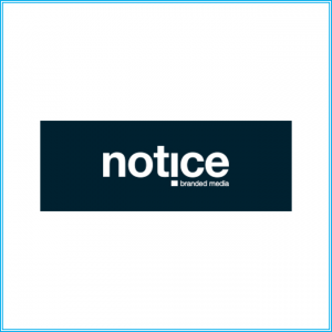 Logo van Notice Branded Media