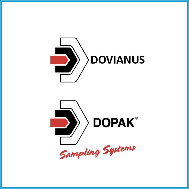 Logo's van Dovianus en Dopak